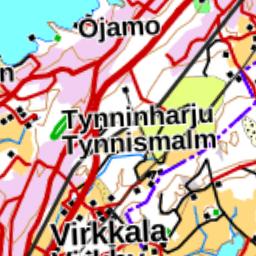 Lohjanjarven Kartta